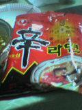 韓国のラーメン